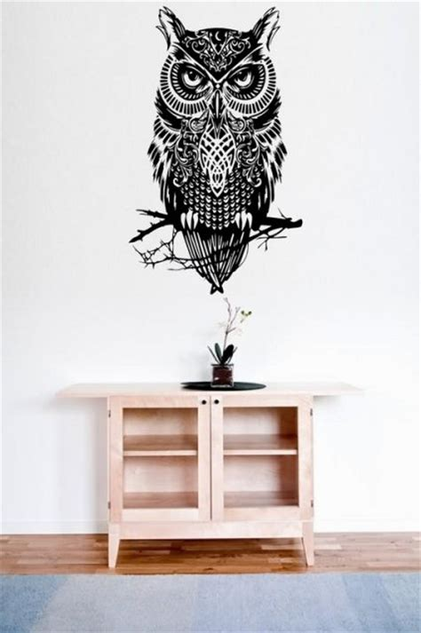owl wall stickers amazing owl large wall decal sticker wall stickers
