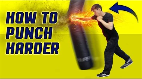 how to throw a knockout how to punch harder throw execute a knockout punch