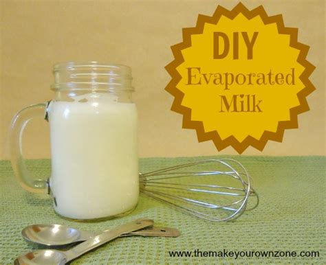 diy evaporated milk the make your own zone