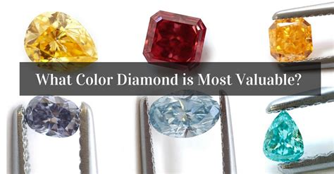 colors of diamonds which color is the rarest and most expensive