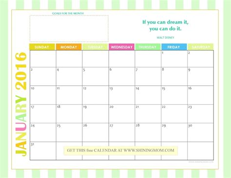 printable vacation planner 2016 printable calendars 2016 monthly
