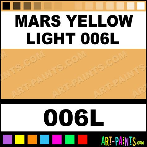 mars yellow light 006l soft form pastel paints 006l mars yellow light 006l paint mars
