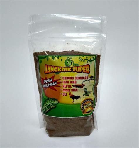 Harga Pakan Burung Jangkrik tepung jangkrik pakan burung murah bikin nggacor kemasan