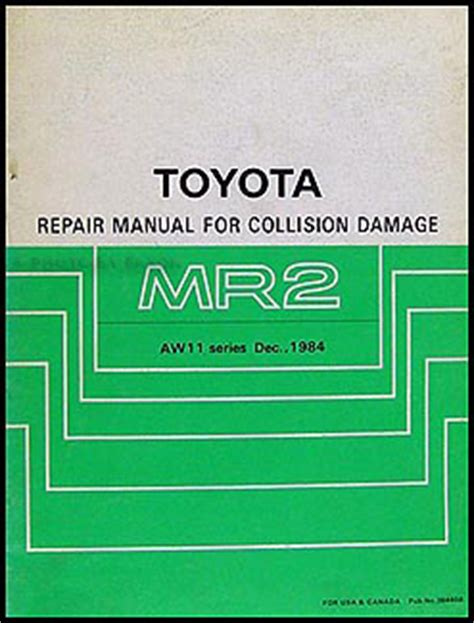 auto repair manual free download 1985 toyota mr2 spare parts catalogs 1986 toyota mr2 repair shop manual original