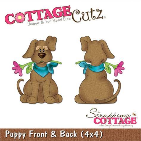cottage cutz sale cottagecutz die 4 quot x4 quot puppy front back free shipping
