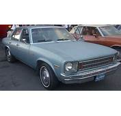 1977 Chevrolet Nova Sedan Automatic Related Infomation