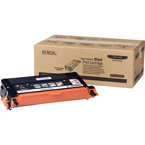 Toner Xerox xerox black toner cartridge for phaser 6180 113r00726 b h photo