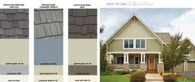 how to use guilford green on your exterior benjamin moore