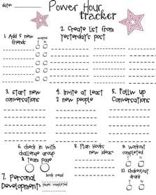 useful printables coach resources