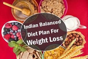 a sample indian balanced diet plan for weight loss health beckon