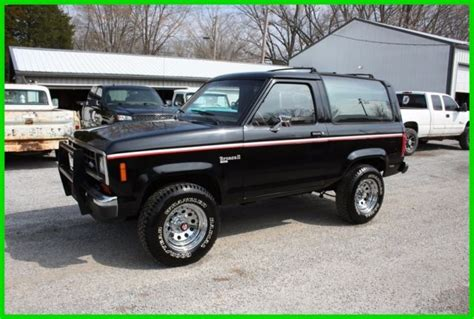 classic 1988 ford bronco ii v6 5 speed for sale detailed description and photos