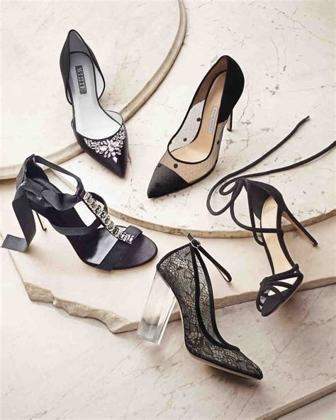 Black Shoes You Can Wear on Your Wedding Day   Martha