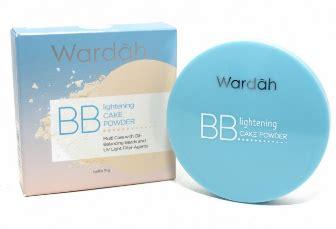 Harga Wardah Lightening Bb Cake Powder review wardah lightening bb cake powder aku kau dan