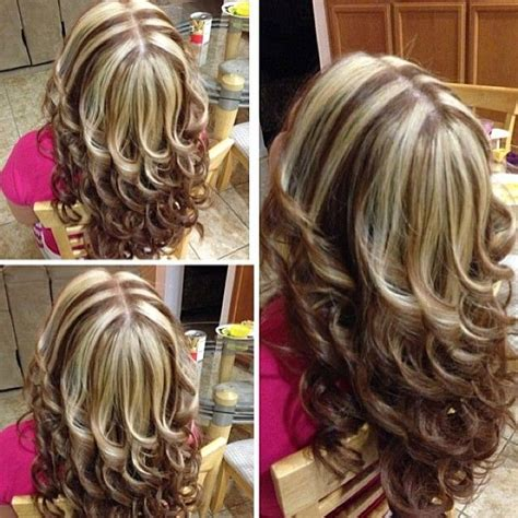 chunky hair highlights pictures chunky highlights hair colors pinterest highlights