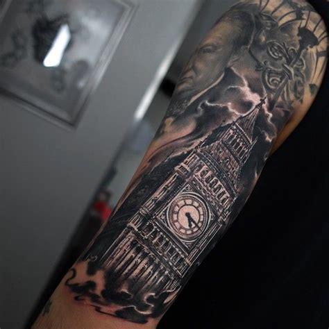 tattoo london bridge 25 b 228 sta id 233 erna om big ben tattoo p 229 pinterest seattle