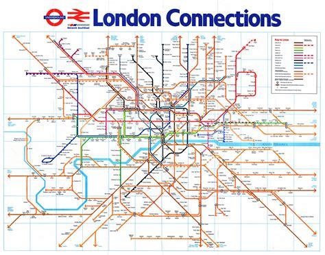 map uk rail lines and rail maps
