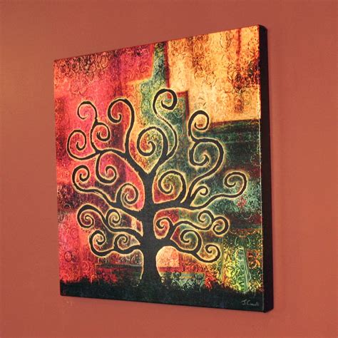 artwork for home abstract tree art modern art for home canvas print quot tree