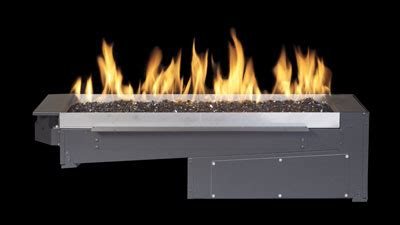 Gas Fireplace Burners by Outdoor Gas Fires Regency Fireplace Products Australia