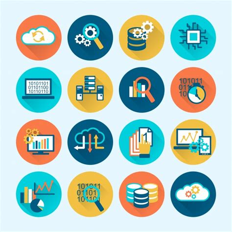 Business Icons Stock Vector More Images Of 524533800 Istock Coloful Business Icons Vector Free
