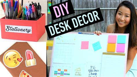 Diy Desk Organization Decor For Back To