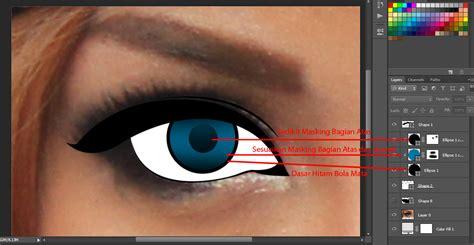 cara membuat martabak warna hitam tutorial cara membuat vector mata dengan photoshop