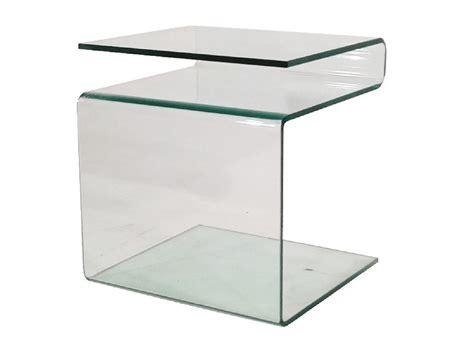 Nebeneingangstür Mit Glas by Beistelltisch Glas Mit Zeitungsst 228 Nder 48x42x40 Sale