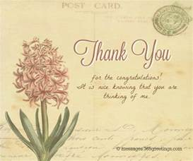 thank you letter to for congratulating me thank you messages for the congratulations 365greetings