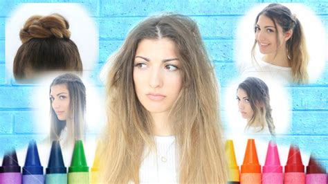 my back to school hairstyles