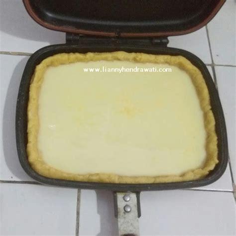 cara membuat martabak happy call resep pie susu menggunakan happy call lianny