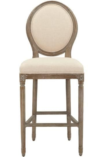 Oval Back Bar Stool by Jacques Oval Back Bar Stool Upholstered Bar Stools Bar