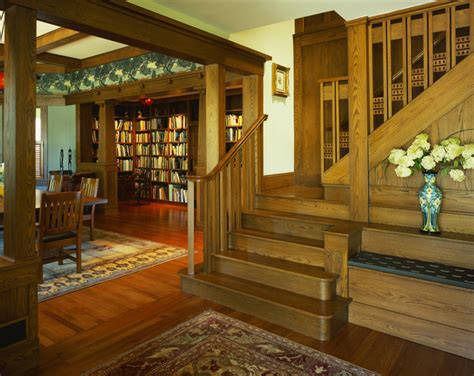arts and crafts home decor tropical craftsman craftsman staircase dc metro by