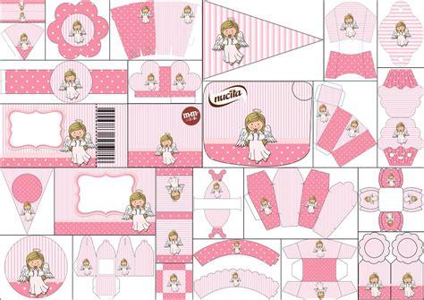 imprimibles primera comunin gratis kit de bella angelita para primera comuni 243 n para imprimir