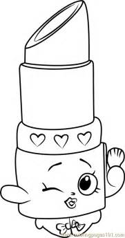 lippy shopkins coloring page free shopkins coloring