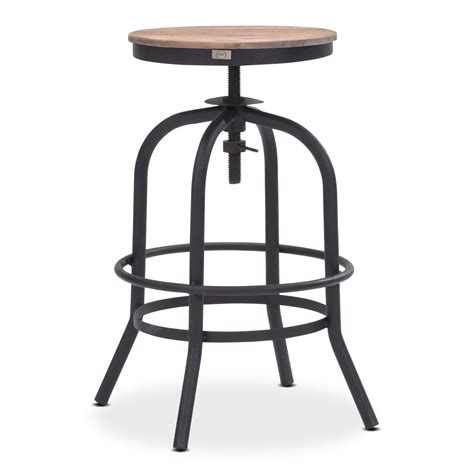 black counter chairs elston adjustable backless counter height stool antiqued