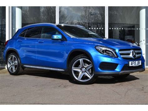 blue mercedes used 2015 15 reg south seas blue mercedes gla class