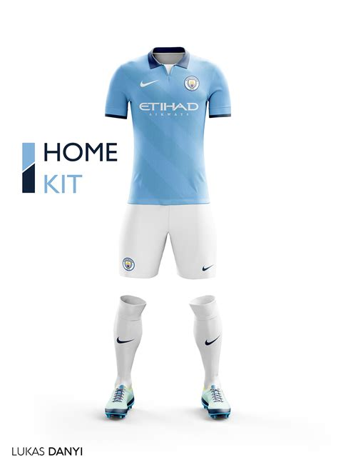 Manchester City 1617 Manchester City Football Kit 16 17 On Behance