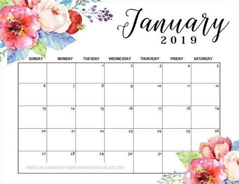 january  calendar printable  designs    print calendar