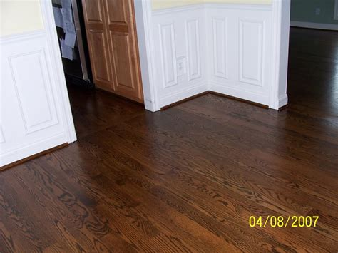 staining light wood floors dark home fatare