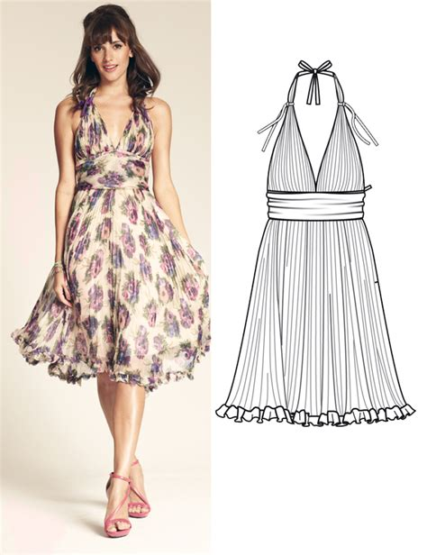 design a dress pattern designer pattern luisa beccaria for burdastyle sewing