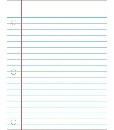 free printable lined paper with clipart image gallery notebook paper clip art