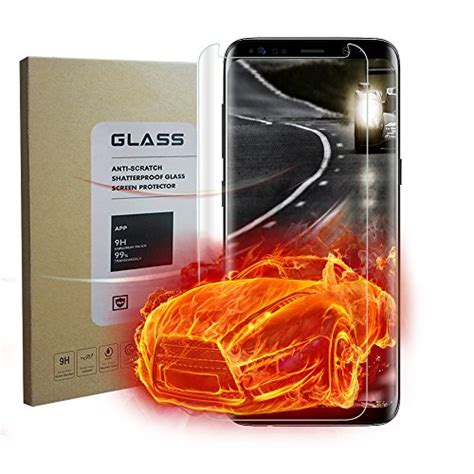 Tempered Glass Samsung Galaxy S8 Plus Anti Gores Warna 1 wangcl samsung galaxy s8 plus clear screen protector easy to install hd clear friendly