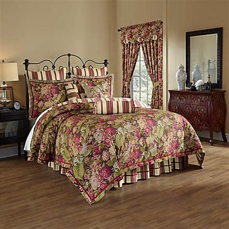 Buy Waverly 174 Floral Flourish Cordial Reversible 4 Piece