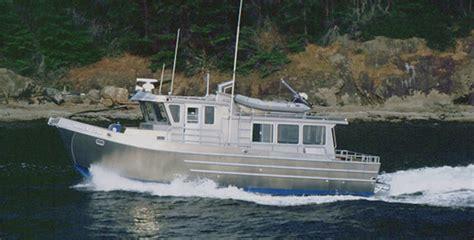aluminium catamaran yacht aluminum trawler 38b all american marine aluminum
