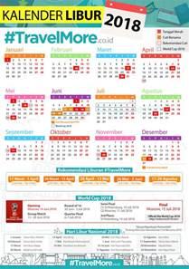 Kalender 2018 Lengkap Hari Libur Kalender Libur 2018 Travelmore