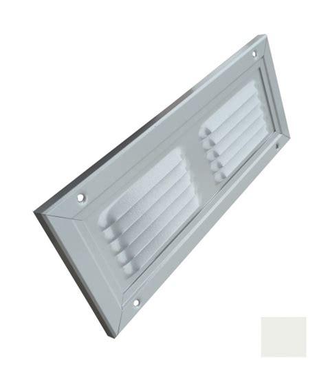 As Aluminium 127 X 300 trobak luftgitter l 252 ftungsgitter aluminium weiss 300 x 150 mm