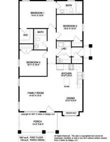 Simple One Bedroom House Plans by Simple Floor Plans Ranch Style Small Ranch Home Plans