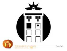 doctor who tardis pumpkin carving template free