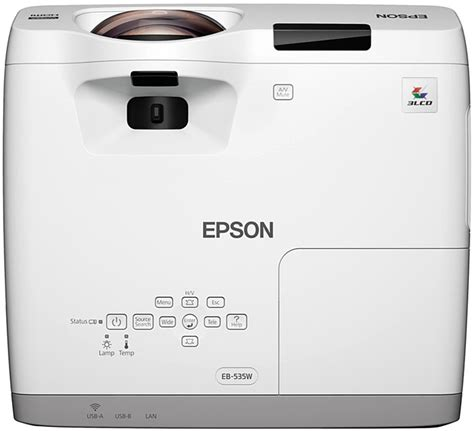 Projector Proyektor Epson Eb S400 1 epson eb 525w projector throw chart and tables from ivojo multimedia ltd