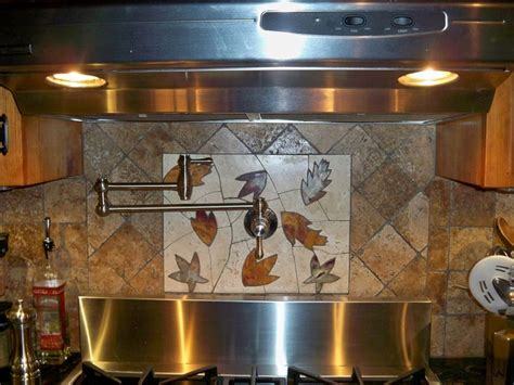 Backsplashes For Kitchen Kitchen Backsplash With Pot Filler Decorating Pinterest