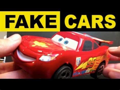 fail fake knock off lightning mcqueen cars disney pixar